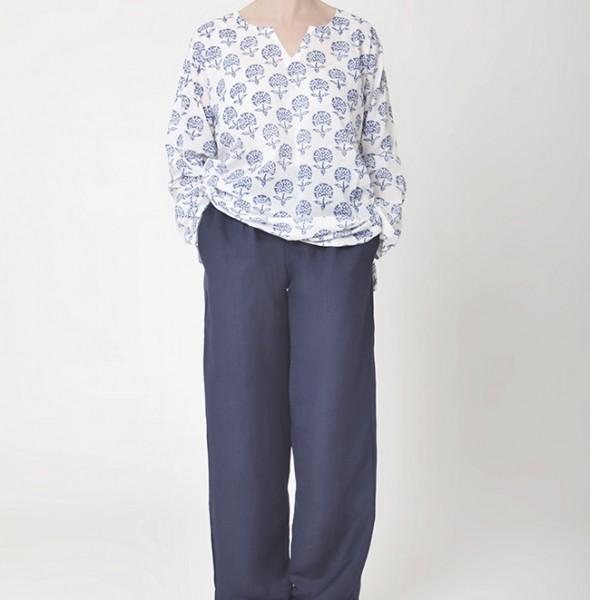 1875_Kurta Shirt + Linen Trouser
