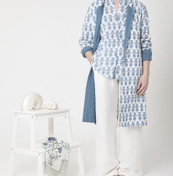 2013 Candy Shirt + Long Jacket Kantha