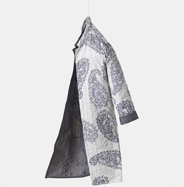2326 Long Jacket Kantha