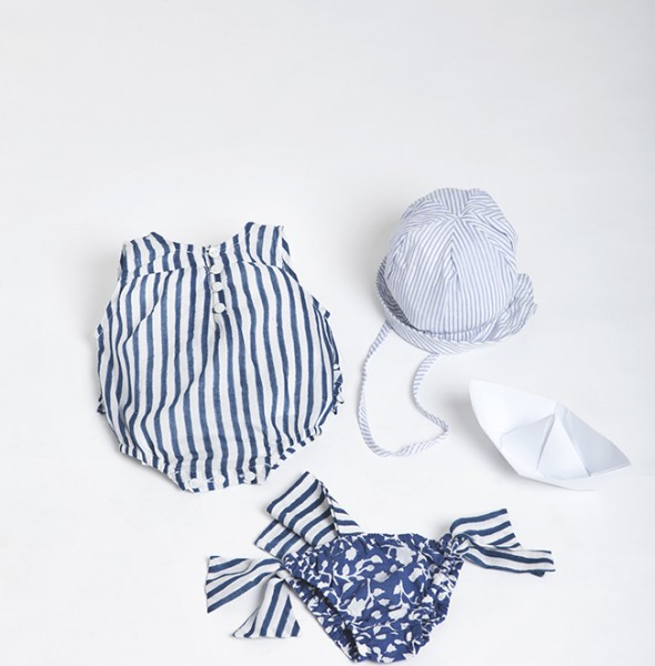 2712 Nina Romper Suit + Cap + Swim Wear