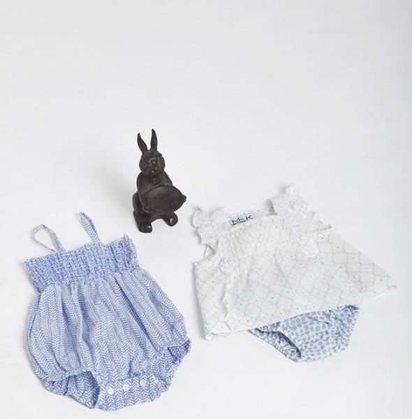 2727 Mara Romper + Elisa Shirt + Elisa Culotte Baby